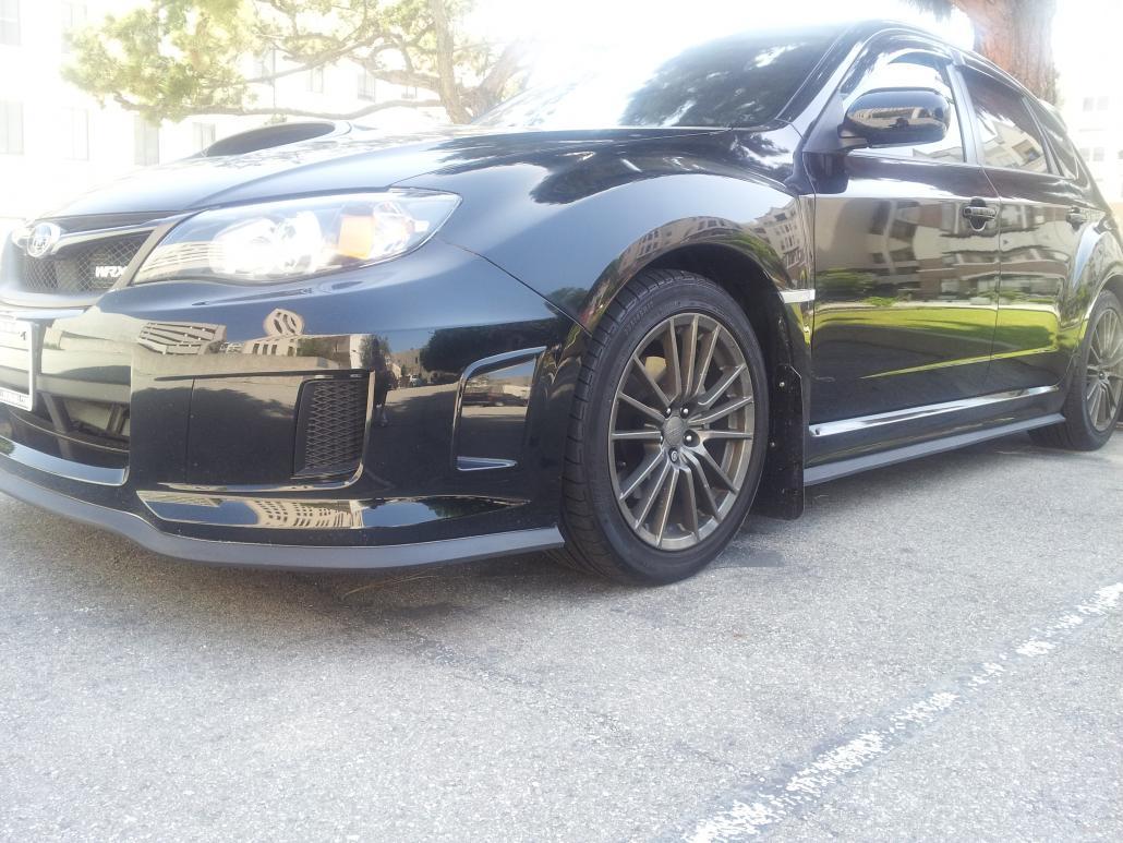 2011 WRX front ez lip