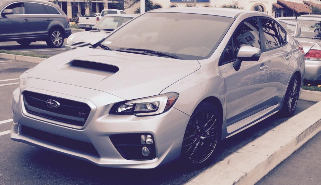 Mine - 2015 Subaru WRX STI