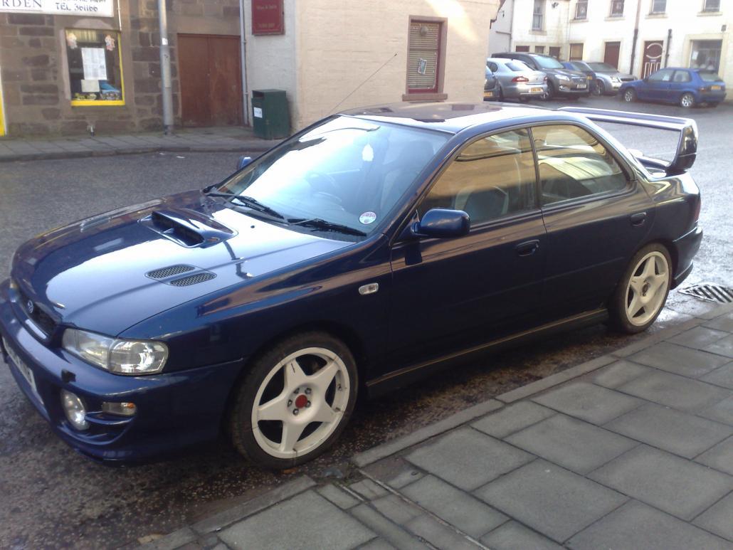 Subaru Impreza Turbo UK