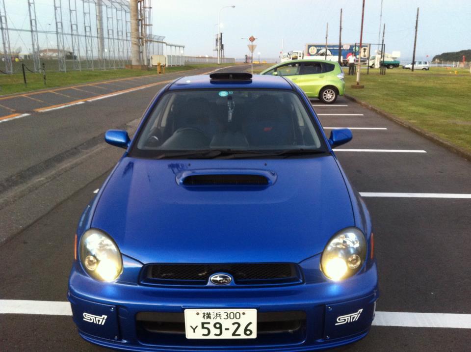 02 STi Rear