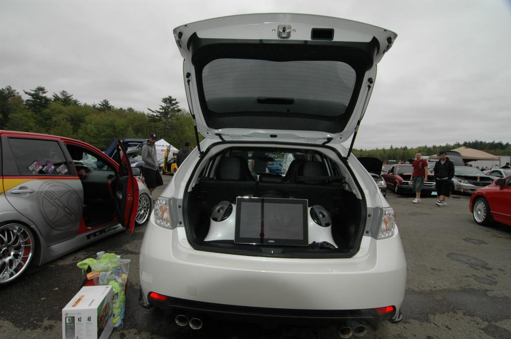 Audio,   Pioneer Z120BT, IPOD classic, two alpine pdx amps, type x ref components in doors, 2011 type r coaxial in rear, two type s coaxials in...