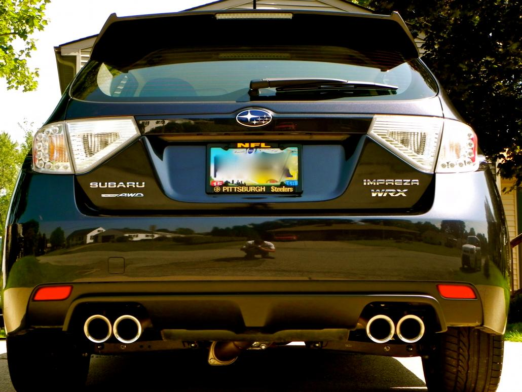 Rear. SPT CatBack Exhaust