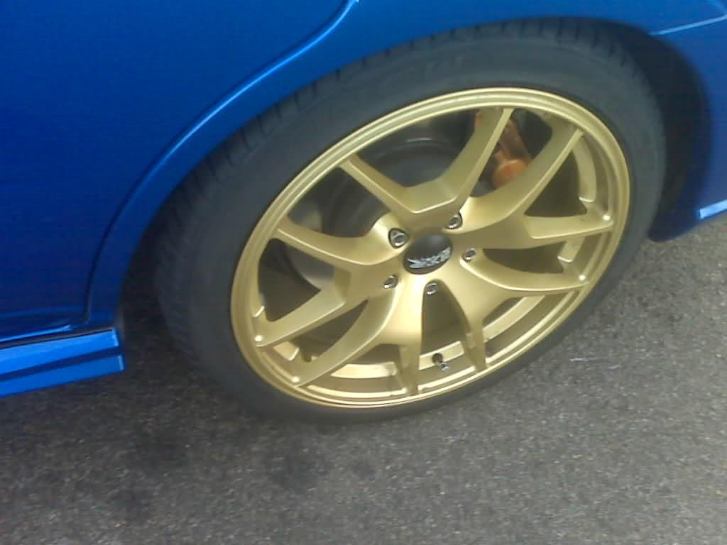 gold xxr R18 18x8.5