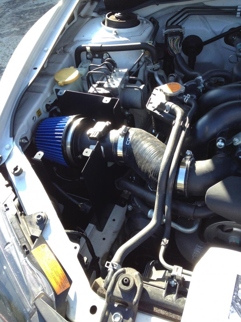 sf intake and airbox