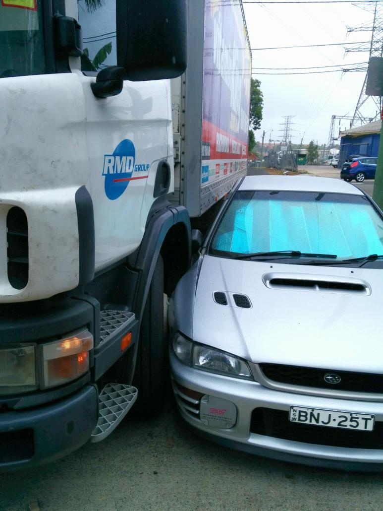 WRX meets Truck