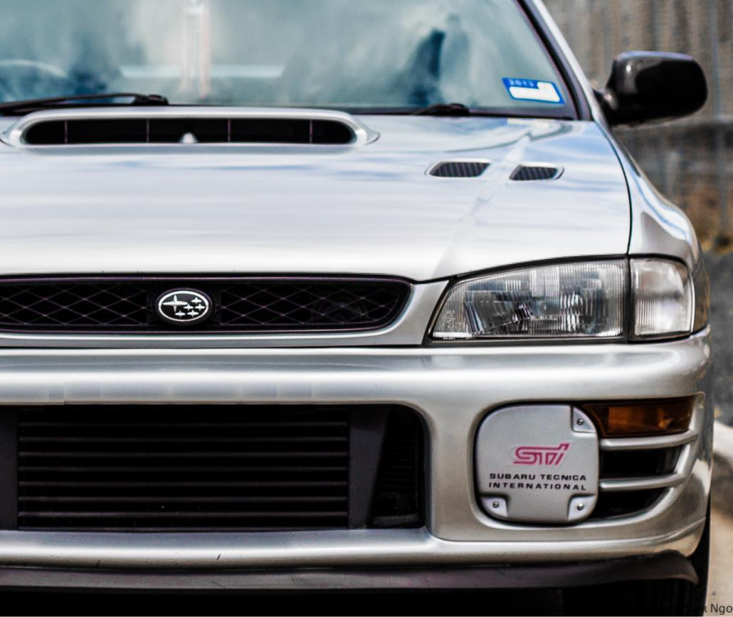 1998 WRX built & tuned by Powertune Australia.