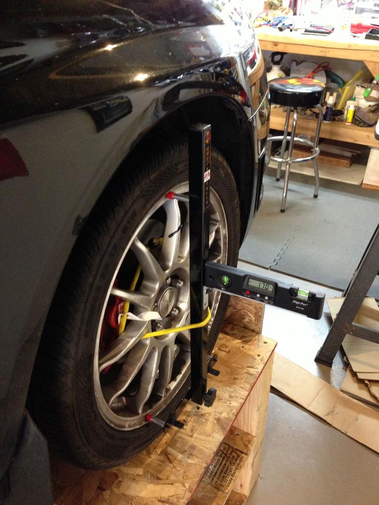 DIY: Alignment, thats right align your car at home with
