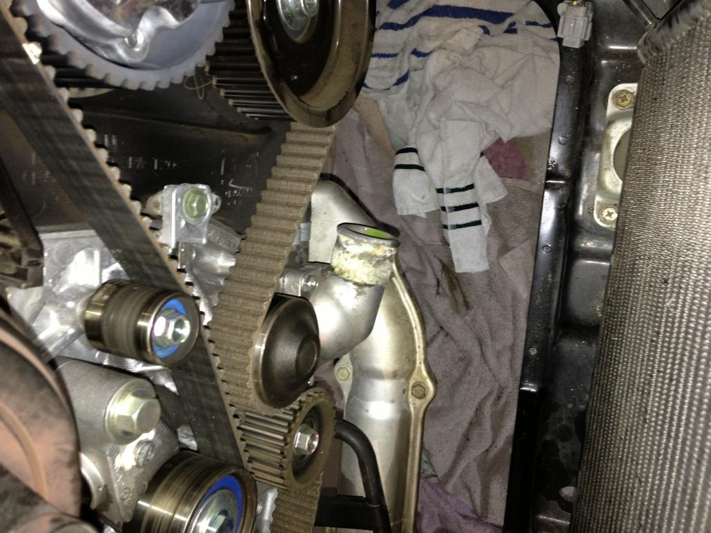 A Reflection: DIY Timing Belt 2006 WRX | ClubWRX Forum