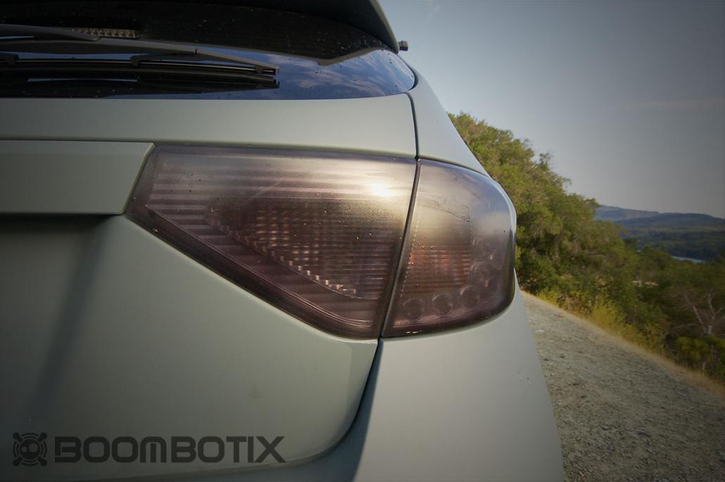 Subaru WRX Rally Side shot