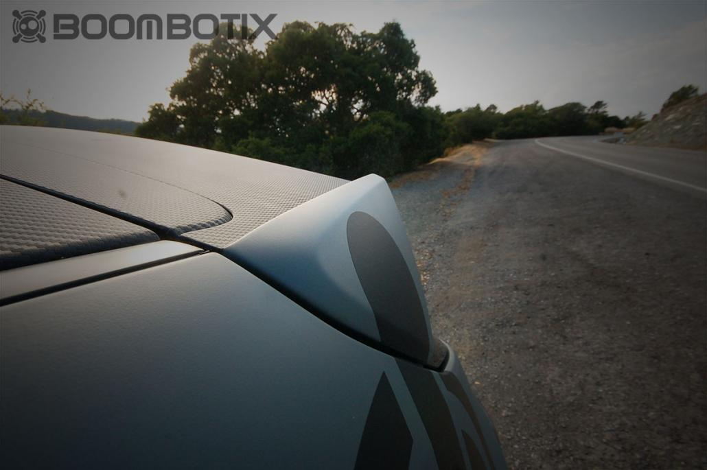 Subaru WRX Rally Spoiler with Carbon laminate