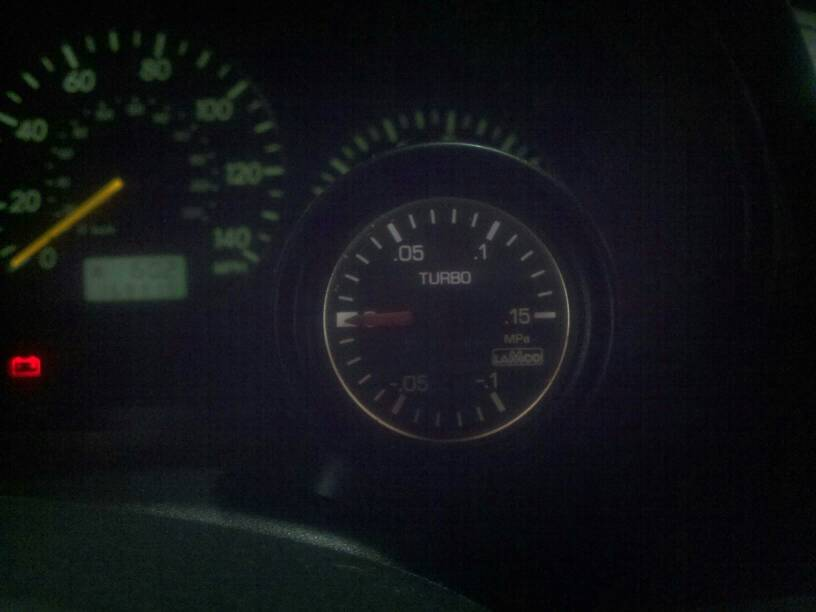 factory boost gauge