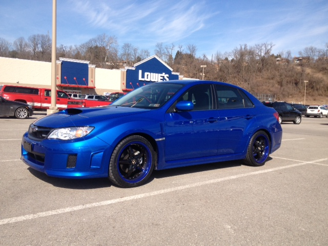 lowered wrx