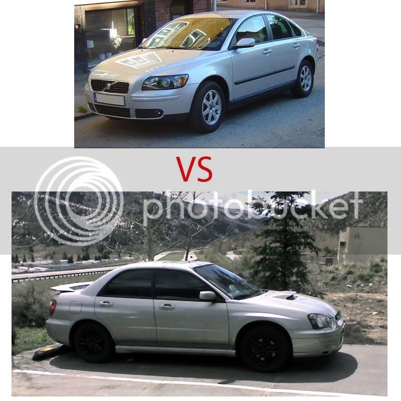 My 05 WRX vs 07 Volvo S40     anyone? | ClubWRX Forum