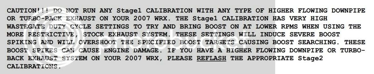 Wrx cobb stage 1 safe
