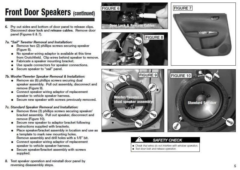 Guide: Replacing door speakers in '08+ WRX/Impreza: Spacers